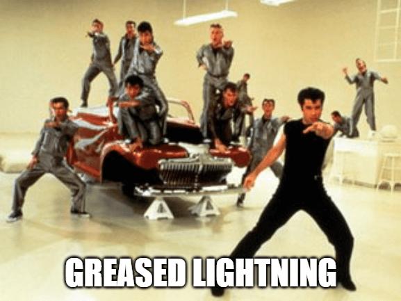 Digital Transformation 90s Grease Lightning
