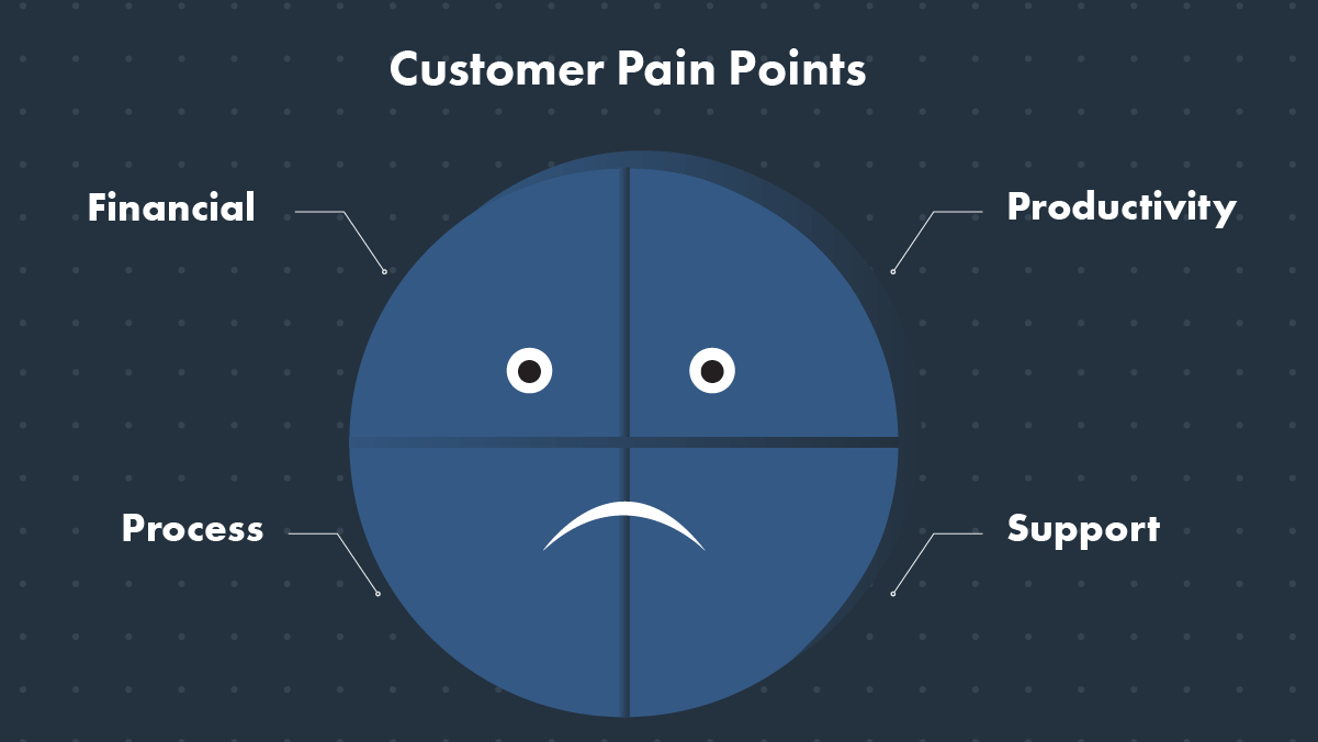 Customer Pain Points Inforgraphic