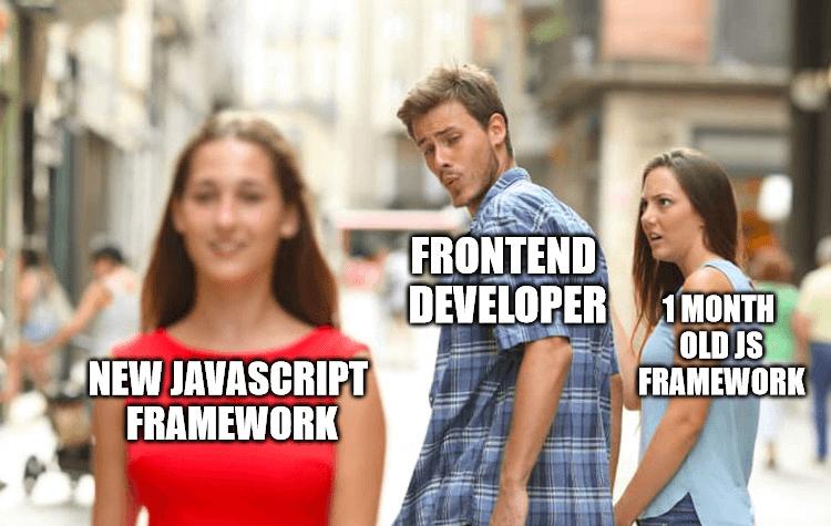 ReactJS new framework monthly