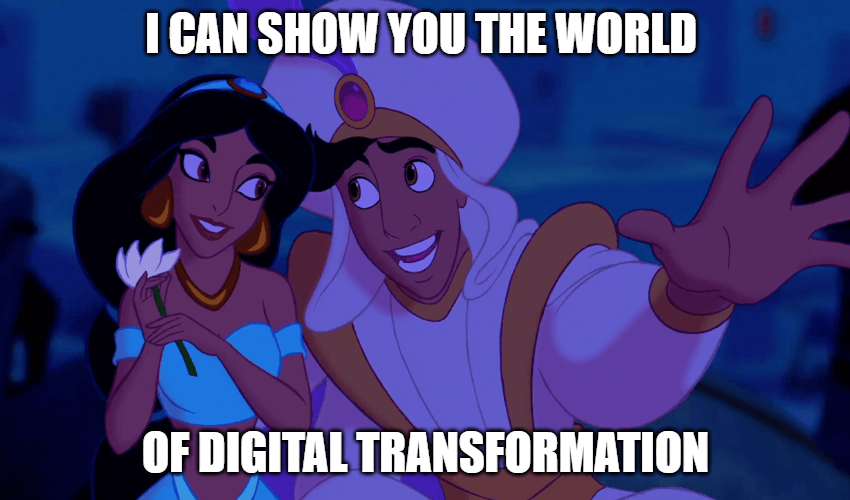 Aladdin Digital Transformation for your business
