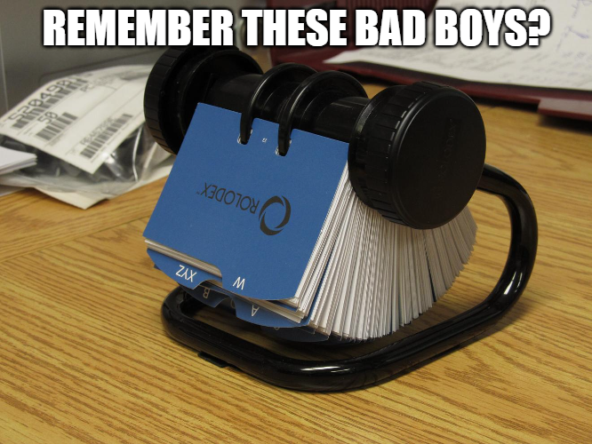 Remember Rolodex