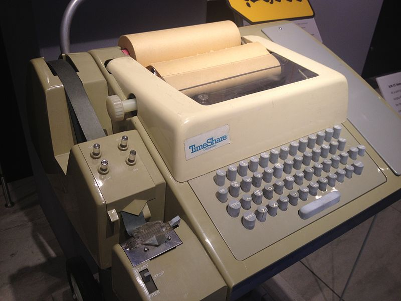 Teletype history of programming