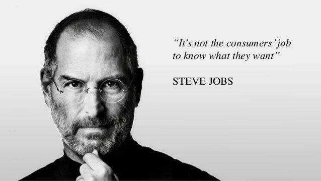 Customer Pain Points Steve Jobs