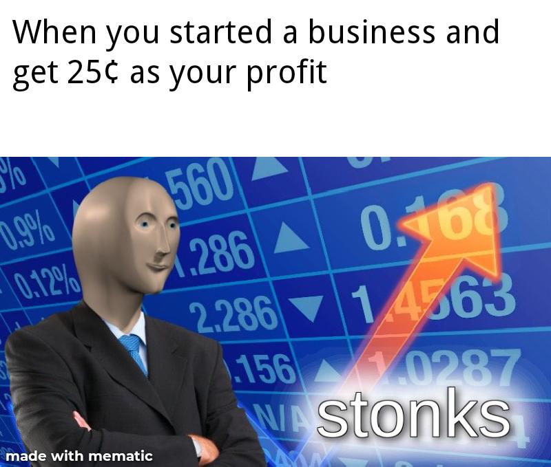 Product Metrics Meme Stonks