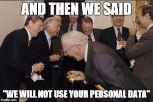 Data Privacy SEO wont track you meme