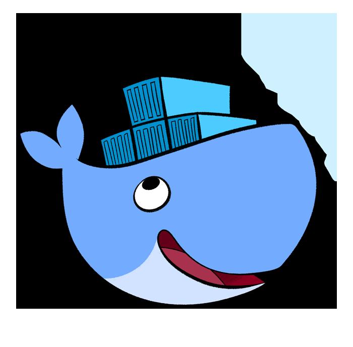 Docker Logo illustration / drawing