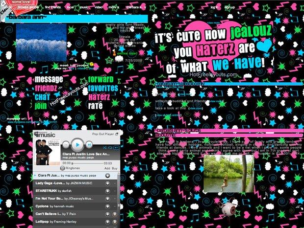 MySpace example