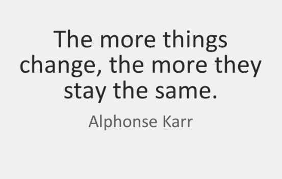 Alphonse Karr quote