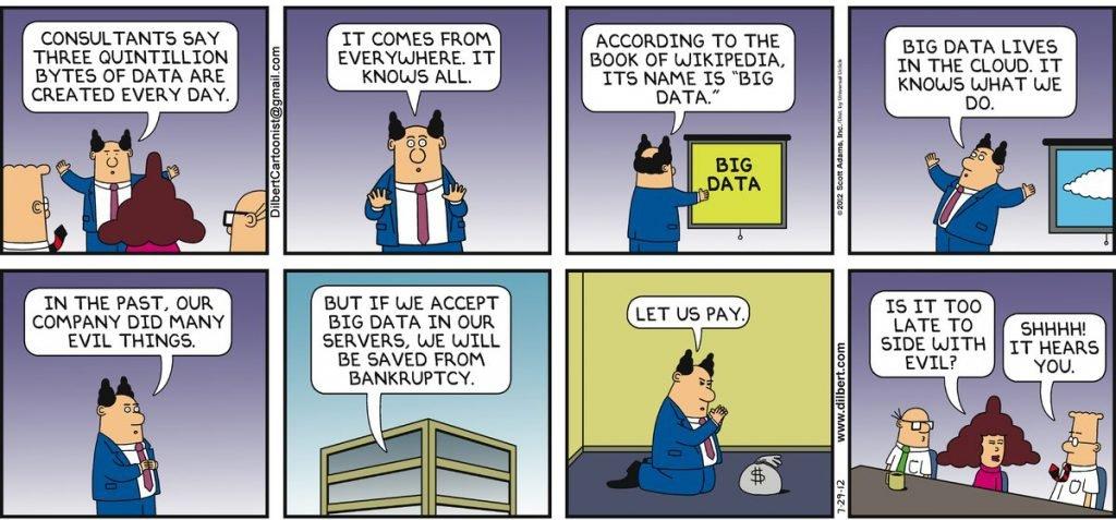 BigData and Digital Transformation comic