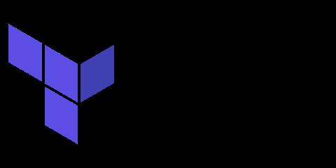 Terraform logo IaC tool