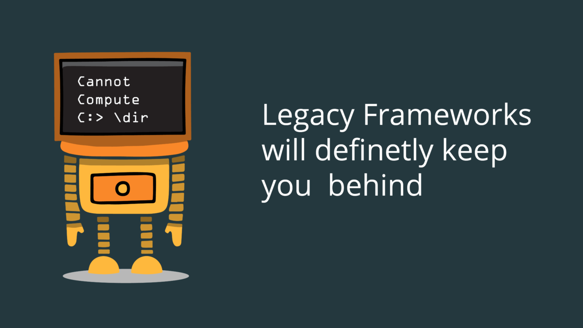 Application Performance: Avoid Legacy Code